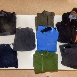 Islande à vélo 2014, Les vêtements pour l'islande à vélo