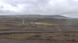 Islande à vélo 2014, la montagne blafell