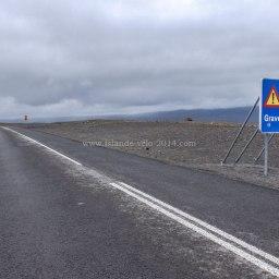 Islande à vélo 2014, sortie de la F35