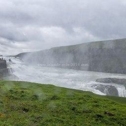 Islande à vélo 2014, le site de Gulfoss