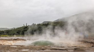 Islande à vélo 2014, le Strokkur de Geysir