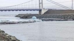 Islande à vélo 2014, le pont Jolusarlon