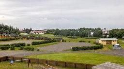 Islande à vélo 2014, camping de Hofn