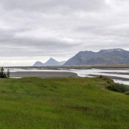 Islande à vélo 2014, sur la route 1 dans l'Est