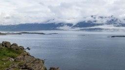Islande à vélo 2014, vue d'un fjord dans l'Est