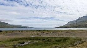 Islande à vélo 2014, fjord de l'Est