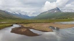 Islande à vélo 2014, dans les fjords de l'Est