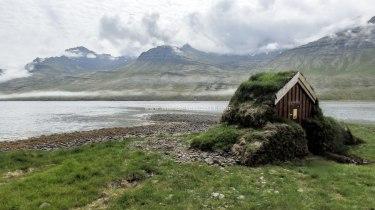 Islande à vélo 2014, fond d'un fjord de l'Est
