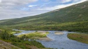 Islande à vélo 2014, la route vers Egilsstadir