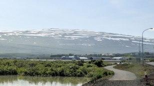 Islande à vélo 2014, sortie d'Egilsstadir