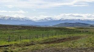 Islande à vélo 2014, route numéro 1 dans le Nord