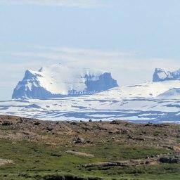 Islande à vélo 2014, vue de la route numéro 1 dans le Nord