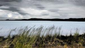 Islande à vélo 2014, à proximité du lac de Myvatn