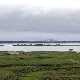 Islande à vélo 2014, lac Myvatn