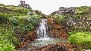 Islande à vélo 2014, à Godafoss