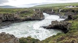 Islande à vélo 2014, Godafoss