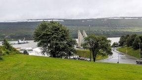 Islande à vélo 2014, à Akureyri