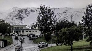 Islande à vélo 2014, piscine de Akureyri