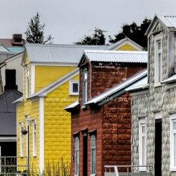 Islande à vélo 2014, la ville de Akureyri