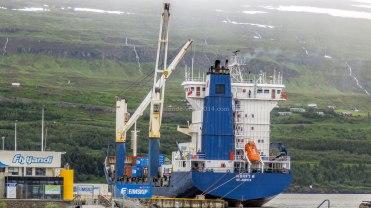 Islande à vélo 2014, le port de Akureyri