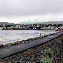 Islande à vélo 2014, visite de la ville de Akureyri