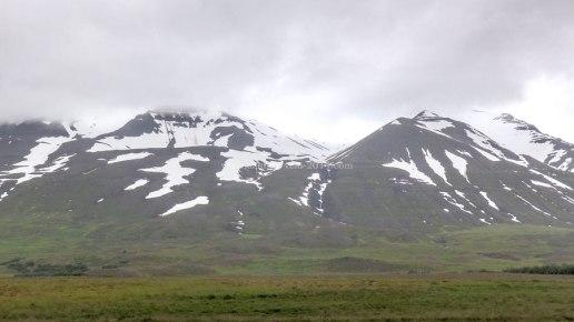 Islande à vélo 2014, vers Varmahlid