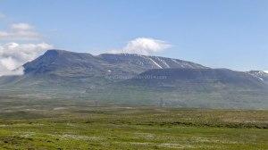 Islande à vélo 2014, à la sortie de Varmahlid