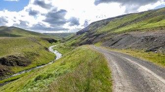 Islande à vélo 2014, traversée de l'Islande par la F35
