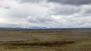 Islande à vélo 2014, sur la F35