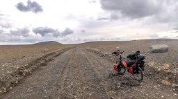 Islande à vélo 2014, piste F35 Kjolur