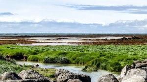 Islande à vélo 2014, pause déjeuner
