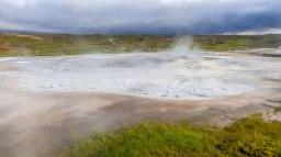 Islande à vélo 2014, Hveravellir