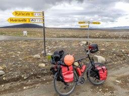 Islande à vélo 2014, à Hveravellir