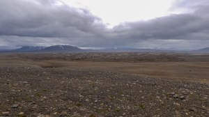 Islande à vélo 2014, vue de la Kjolur