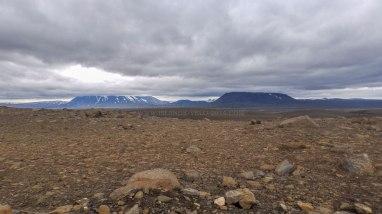 Islande à vélo 2014, sur la piste Kjolur