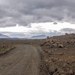Islande à vélo 2014, la piste F35