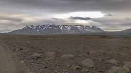 Islande à vélo 2014, bivouac au pied de la F35
