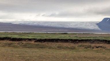 Islande à vélo 2014, glacier Langjokull