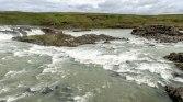 Islande à vélo, des chutes d'eau
