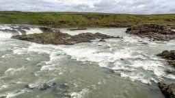 Islande à vélo 2014, des chutes d'eau