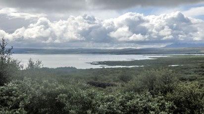 Islande à vélo 2014, parc national de Pingvellir