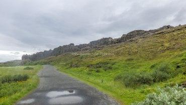 Islande à vélo 2014, faille d'Almannagjá