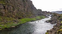 Islande à vélo 2014, à Pingvellir