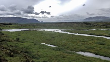 Islande à vélo 2014 à Pingvellir