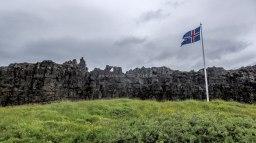 Islande à vélo 2014, L'alping