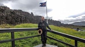 Islande à vélo 2014, Le Logberg de Pingvellir