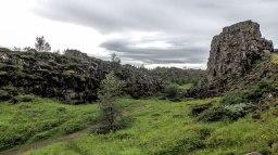 Islande à vélo 2014, La faille d'Almannagjá