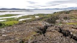 Islande à vélo 2014, site de Pingvellir
