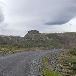 Islande à vélo 2014, piste F550