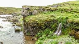 Islande à vélo 2014, chutes d'eau Urridafoss